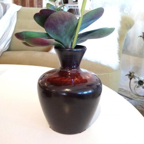 Frank Keramik brun vase