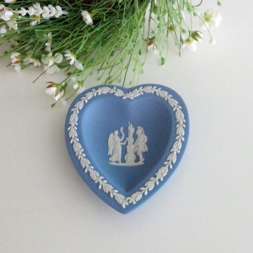 Hjerte Wedgwood Blue