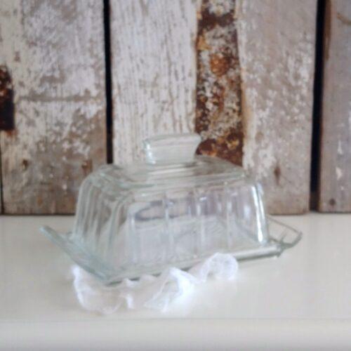 Glas bonbonierre med fad