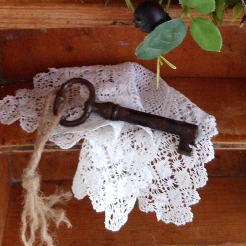 Flot antik nøgle