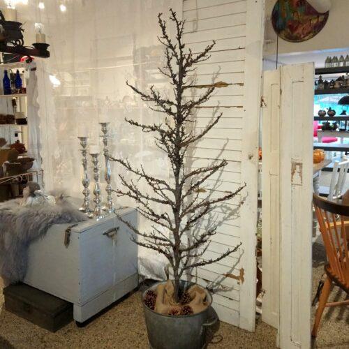 Dekotræ med mos 185 cm