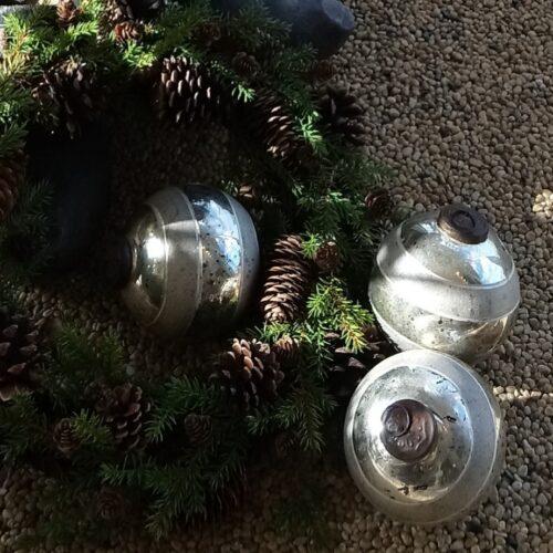 Store flotte julekugler
