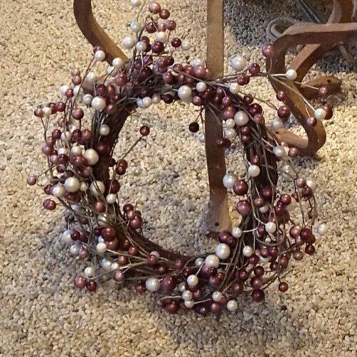 Flot krans med perler