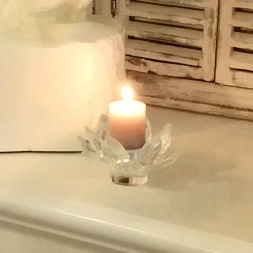 Fyrfadslys / lille bloklys