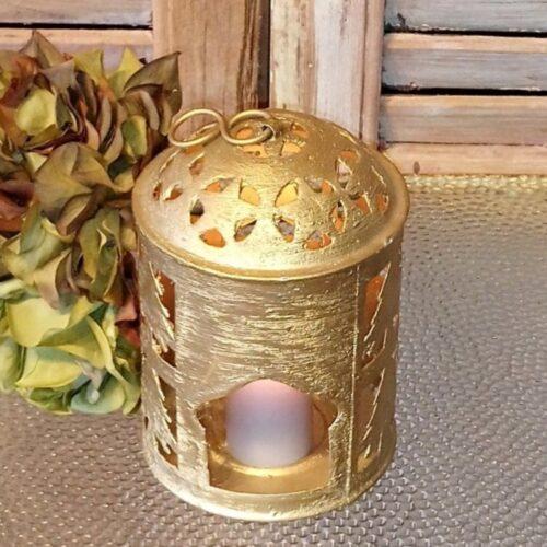 Gylden lanterne - fin og stemningsfuld