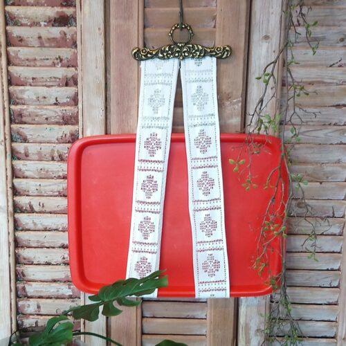 Rosti retro plastbakke rød