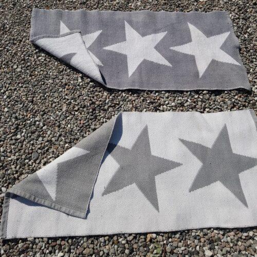 Lille kludetæppe med stjerner