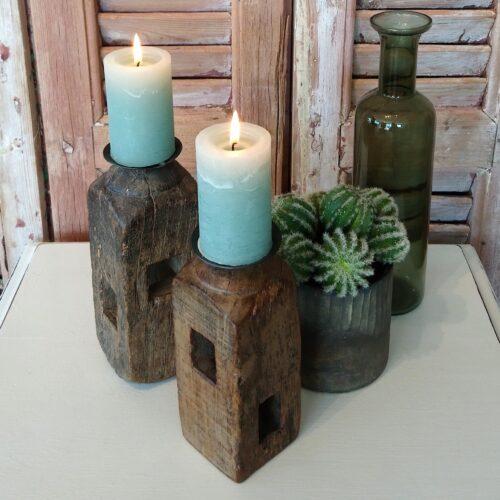 Træstager rustikke - sæt
