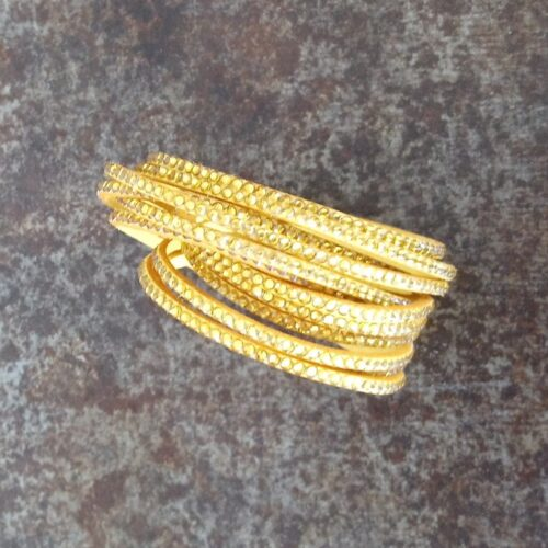 Carry armbånd med glimmersten