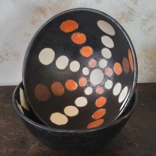 Afrikansk lerskål