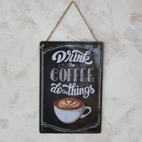 Metalskilt Coffee