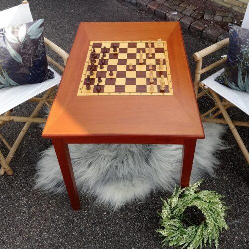 Håndlavet skakbord