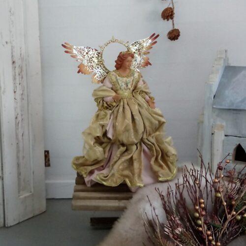 Stor Madonna med guldkjole