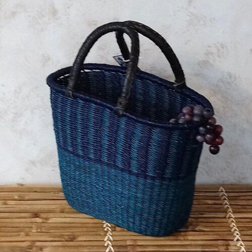 Afrikansk kurv blå/lilla