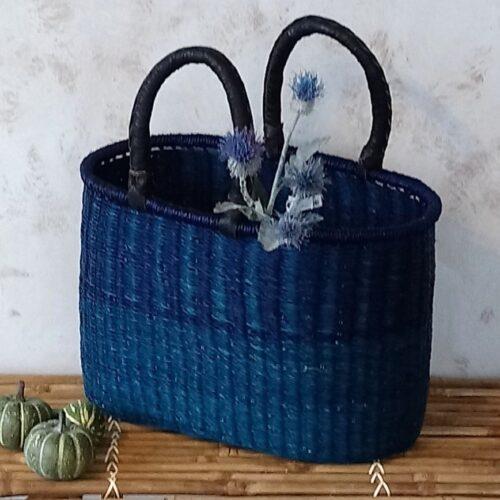 Afrikansk kurv flot blå/lilla