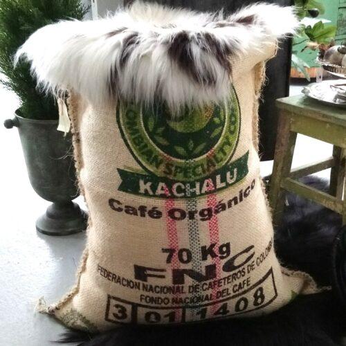 Kaffesæk flot ny med print