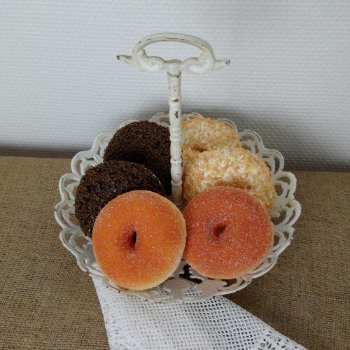 Lækre kunstige donuts