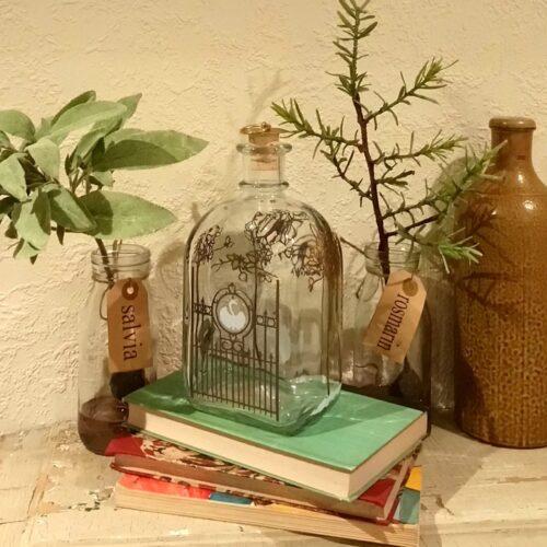 Holmegaard dramflaske