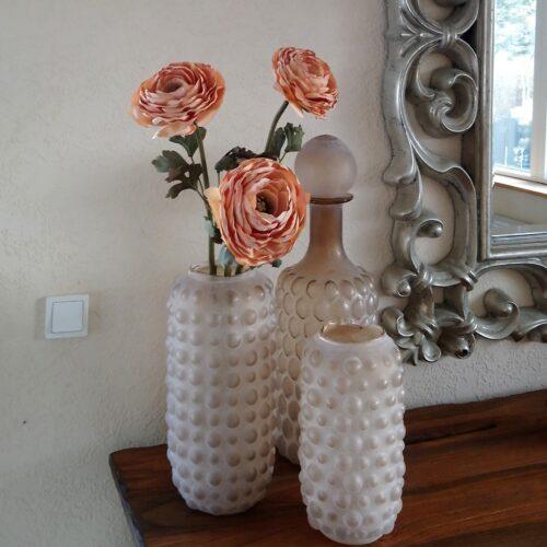 Karaffel og smukke vaser