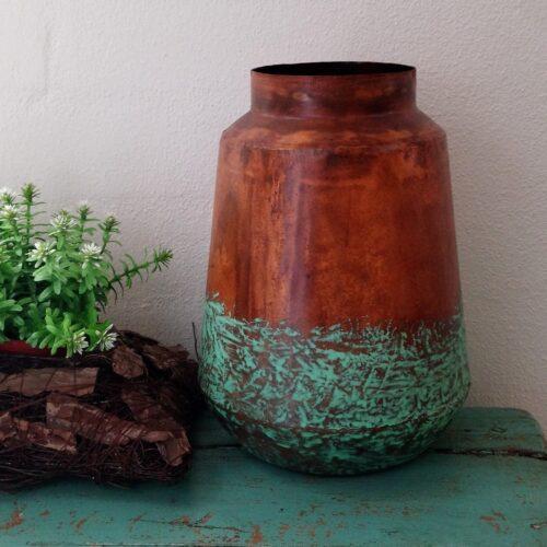 Rustik kobbervase