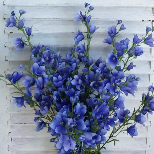Klokkeblomst blå blomstergren
