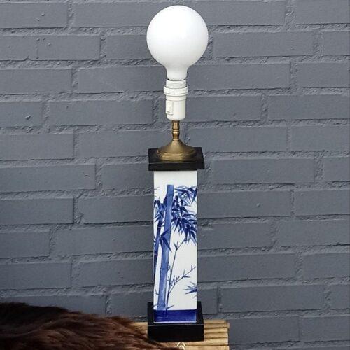 B&G lampe med bambus