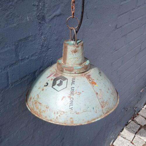 Industriel loftlampe i jern