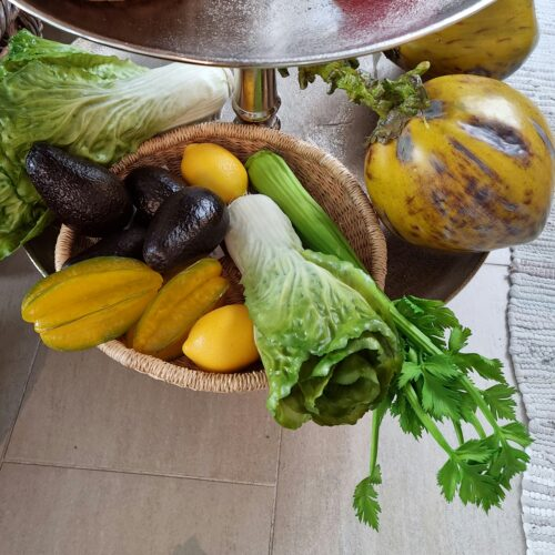 Lækkert frugt og grønt