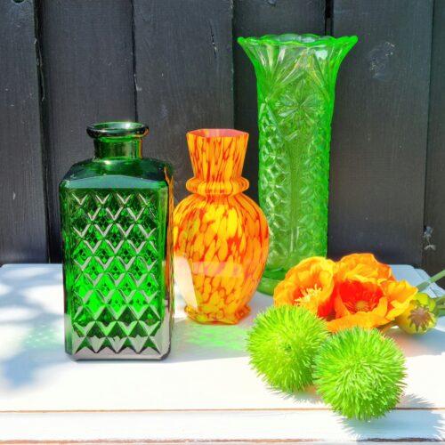 Skønne vaser i solen