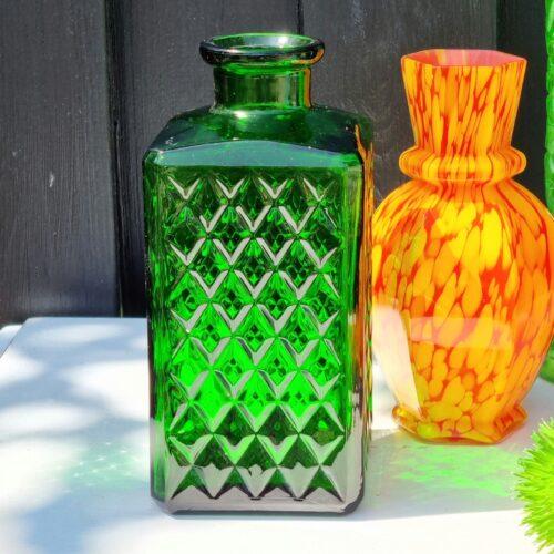 Flot grøn flaske