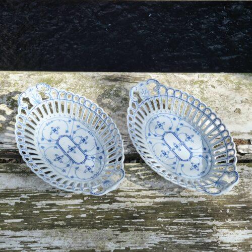 Romantisk porcelænsfad