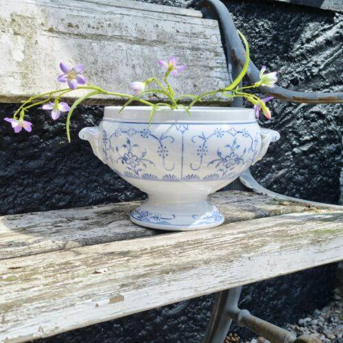 Romantisk tysk porcelænsterrin