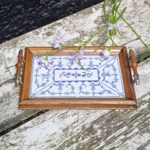 Romantisk porcelænsbakke
