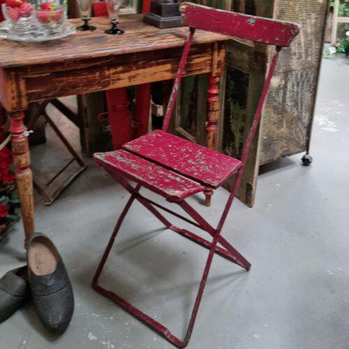 Flot klapstol i jern