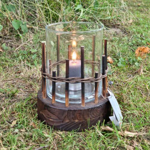 Lanterne /Hurricane i træ
