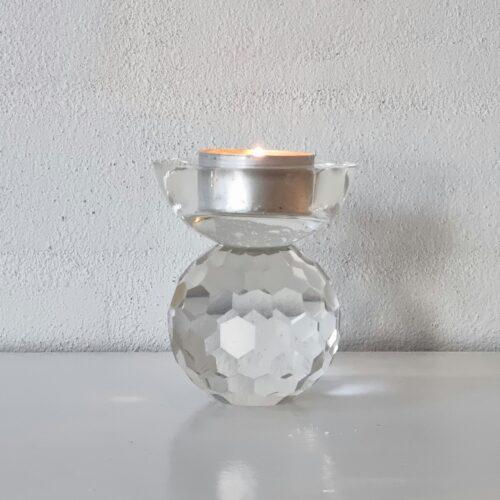 Smuk klar glasstage