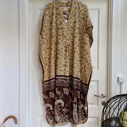 Smuk indisk sari/Kaftan - One of A Kind
