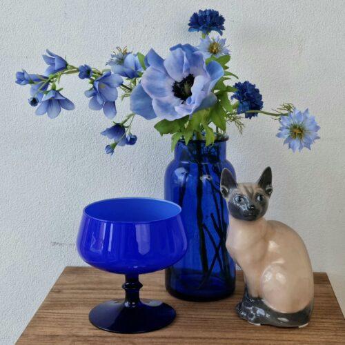 Smukke blå ting