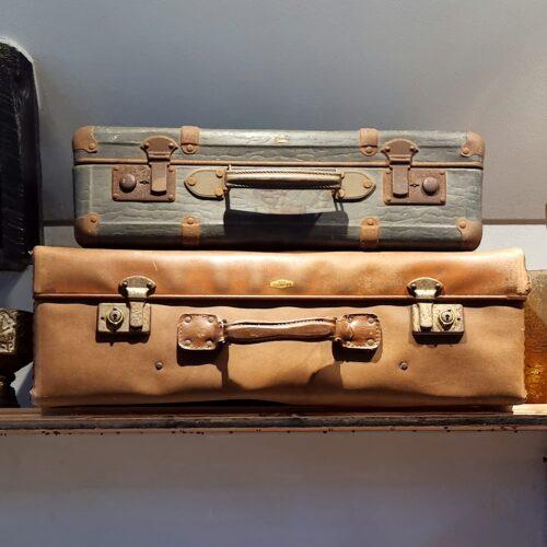 Flotte gamle kufferter